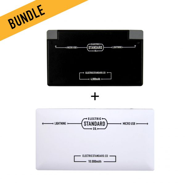 Cassette and Premium Portable Battery Bundle